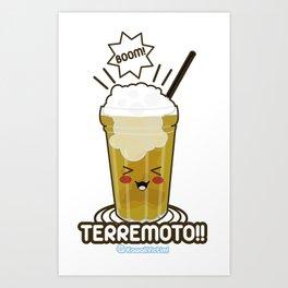 El Terremoto Art Print