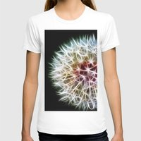 dandelion T-shirts featuring Fractal dandelion by Mark Nelson