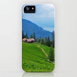 Above Interlaken iPhone Case