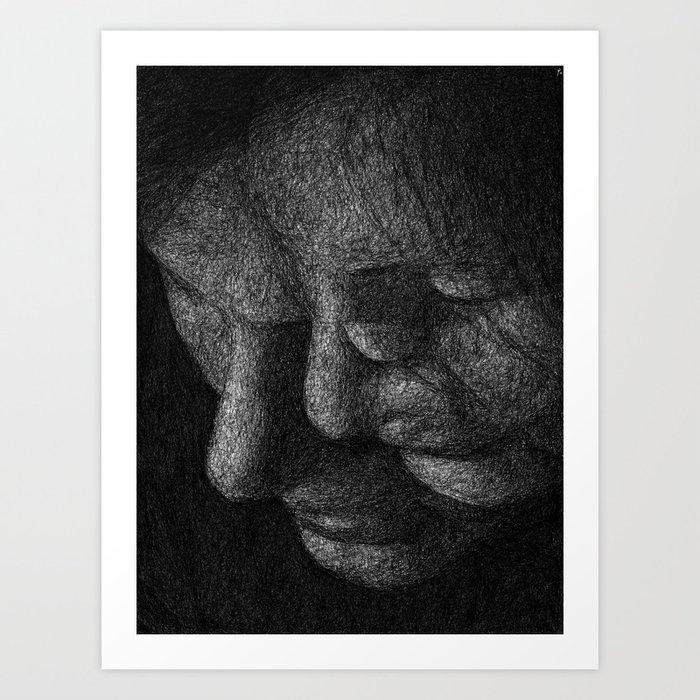 In Parallel II Art Print