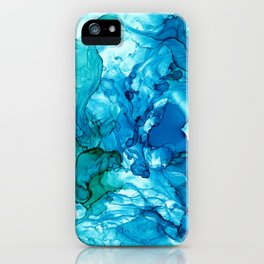 Into the Blue I iPhone Case