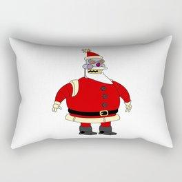 Bad robot Santa Claus Rectangular Pillow