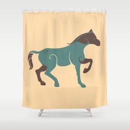 Baltic Horse Shower Curtain