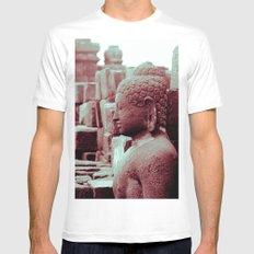 Borobudur Mens Fitted Tee White MEDIUM