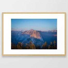 Half Dome in Yosemite National Park Framed Art Print