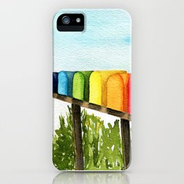 Happy Mail iPhone Case