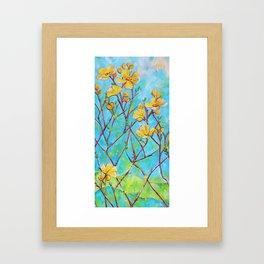 Kapok Framed Art Print