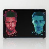 tyler durden iPad Cases featuring Fight club - tyler by Dr.Söd