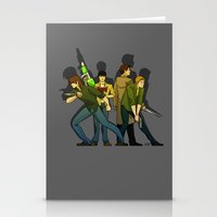 supernatural Stationery Cards featuring Supernatural by Justyna Rerak
