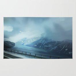 winter scenery Rug