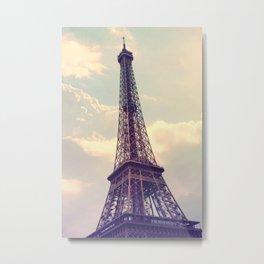 Paris Le Tour Eiffel  Metal Print
