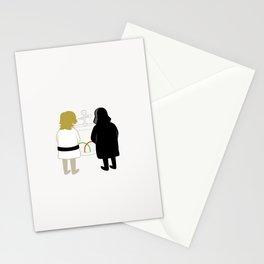 Saber Fight Stationery Cards