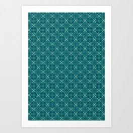 Chi Sogna Disegna - Pattern Art Print
