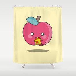 Unhealthy food Shower Curtain