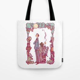 Sirius and Remus Tote Bag
