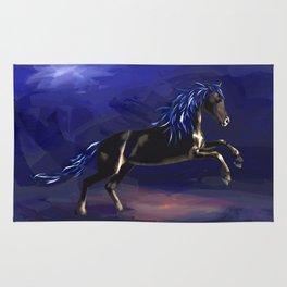 Black Stallion Rug