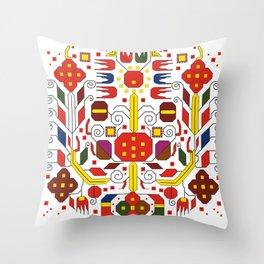 Shevica ~+~ 2 Throw Pillow