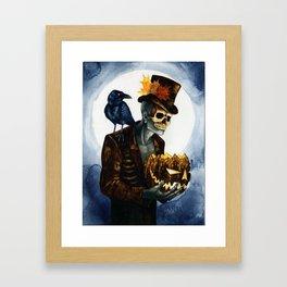 Shadow Man 4 Framed Art Print