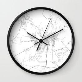 Minimal City Maps - Map Of Kutaisi, Georgia. Wall Clock