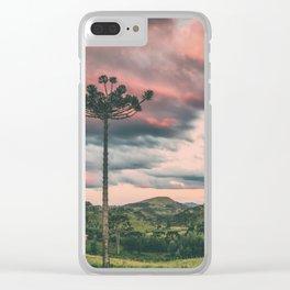 Araucaria in the Sky Clear iPhone Case