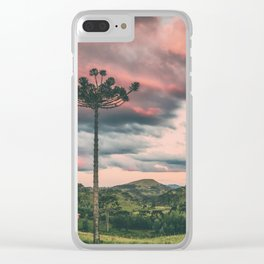 Araucaria in the Sky Clear iPhone Case