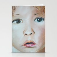 child Stationery Cards featuring Child by Sarah Ridings