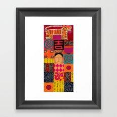 Lady Buddha 2 Framed Art Print