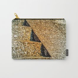PATTERNS OF HISTORY Carry-All Pouch