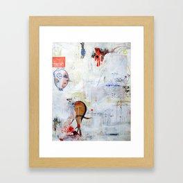 ON HO. Framed Art Print