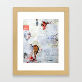 ON HO. Framed Art Print