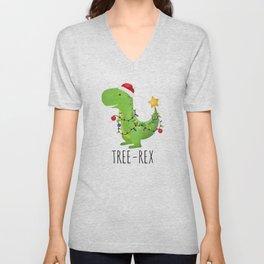 Tree-Rex Unisex V-Neck