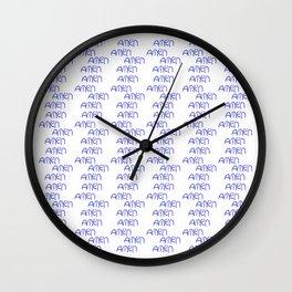 amen 5 Wall Clock