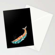 For the Love of Whales Stationery Cards