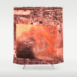 Childhood of humankind: Wisdom eye look left Shower Curtain