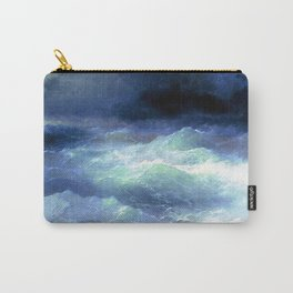 Among the waves- I. Aivazovsky Carry-All Pouch