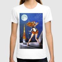 sailor venus T-shirts featuring Sailor Venus by Nelson Rodrigues