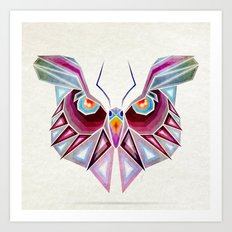 owl or butterfly? Art Print