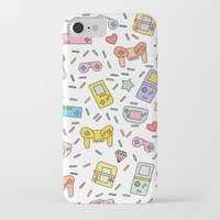 gaming iPhone & iPod Cases featuring Gaming by Irene Florentina