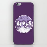 three of the possessed iPhone & iPod Skins featuring Dostoevsky The Possessed 1872 by Kisa's Lychee