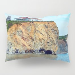 Cliffs of Perce Panoramic Pillow Sham