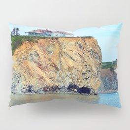 Cliffs of Perce Panoramic Pillow Sham