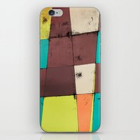 hot air balloon iPhone & iPod Skins featuring Hot Air Balloon II by Monty