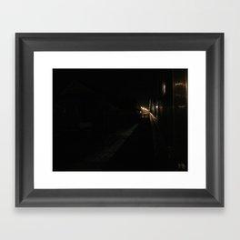 Subtle Shadows Framed Art Print