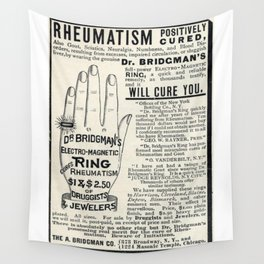 Righteous Rheumatism Wall Tapestry