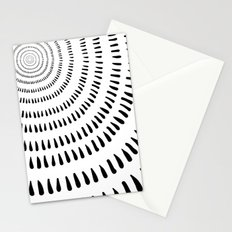 Fjorn on white Stationery Cards