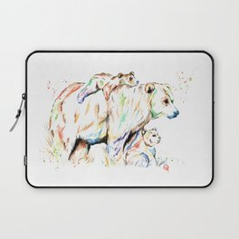 Bear Family - and then there were 3 Laptop Sleeve