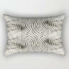 Carbon Thought Rectangular Pillow
