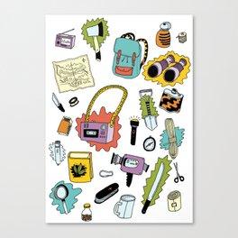 Survival Tools Canvas Print