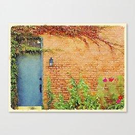 Portsmouth NH Door Canvas Print
