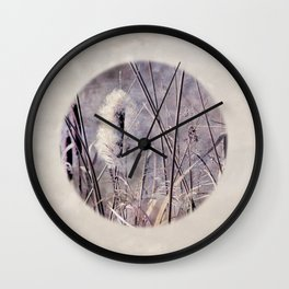 criss-cross Wall Clock